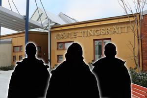 De tre åtalade männen är hemmahörande i Stockholm, Fagersta och Skinnskatteberg.