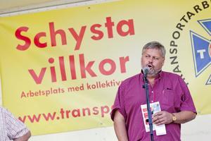 Transports förbundsordförande Lars Lindgren.