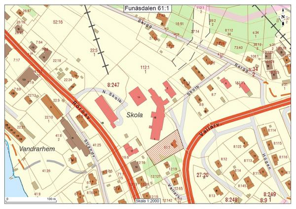 Härjedalens kommun har köpt en tomt söder om skolan i Funäsdalen.
