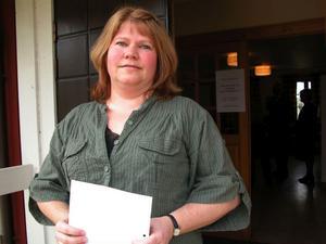 Karin Byström, skogskonsulent i Leksand.