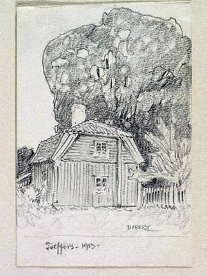 Det hemlighetsfulla huset i Tolvfors.