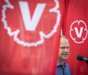 Jokern. Vänsterpartiets ledare Jonas Sjöstedt ställer krav för att vara med och regera om de rödgröna vinner valet.