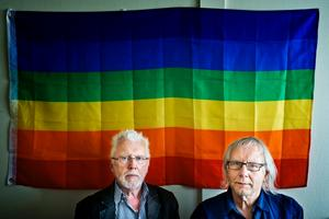 Karl-Erik Irina Nilsen och Pell Uno Larsson från RFSL är inget annat än upprörda över domen mot 61-åringen.