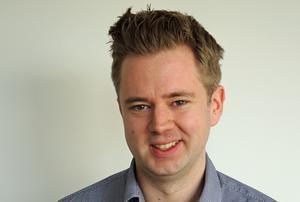 Jonas Fellström, Borlänge kommun, arbetar med bland annat befolkningsstatistik.