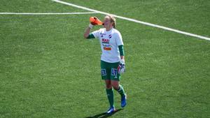 Jenny Wahlén debuterade i Damallsvenskan.