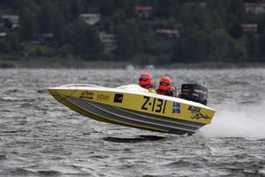 Anders Block med navigatör Kent Andersson vann den SM-deltävlingen i Skokloster i helgen.
