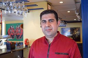 Khaled Al Chdid jobbar på Malungs wok sedan i september.