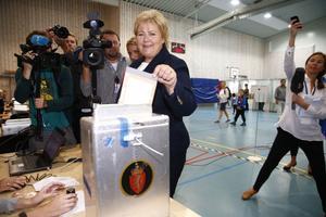 Erna Solberg blir Norges nya statsminister.
