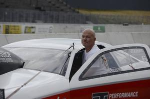 Benny Strand från Iggesund hade otur och körde sönder motor redan i första kvalrundan.