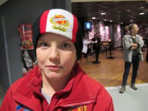 Anton Wallman, 10, studerande, Uppsala:– Ingen aning. Jag bor inte här.