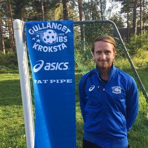 Anton Lundholm klar för ytterligare ett år i GKIBS.