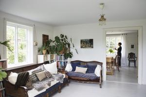 Mycket av det som finns i Idas hem kommer från tidigare ägare och fanns där när familjen flyttade in.
