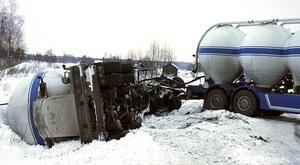 Bilden är från en halkolycka i Norrsundet nyårsafton 2005