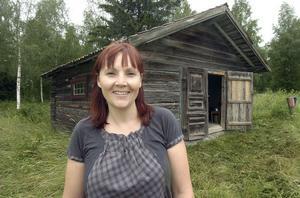 Åsa Hammar i Roteberg visade under onsdagen Hammargårdes gårdsmuseum som finns efter Stora Hälsingegårdars väg.