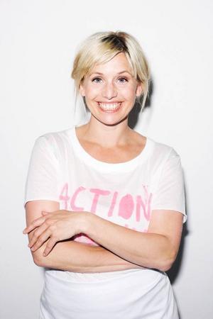 Tina Nordström ska laga mat i direktsändning. Foto: TV4