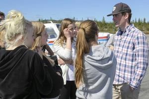 Piloten Jon Nordström från Hede berättar om sina flypupplevelser.
