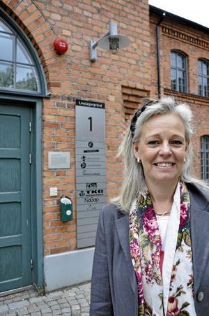 Innovation i Västmanland. Caroline Drabe är sedan i maj vd för Västerås Science Park och kommer att fortsätta bidra till det gedigna innovationarbete som redan pågår i länet. foto: Ann Lystedt/vlt:s arkiv