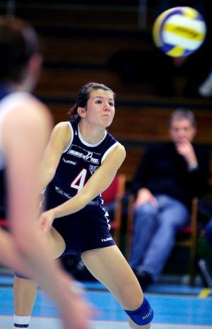 Blir proffs. Aida Rejzovic, fostrad i Kolbäcks VK, blir volleybollproffs i Frankrike.