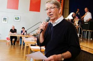 Tävlingsledare  i distriktsfinalen  i Brunflo var Per-Owe Öberg.