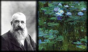 Claude Monet, mannen och målningen.