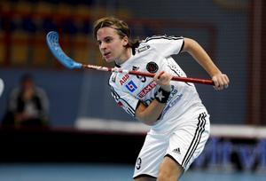 Alexander Galante Carlström i VIB-tröjan under en förlustmatch mot Pixbo 2005.