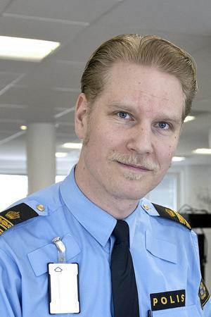Josef Wiklund, polisen.