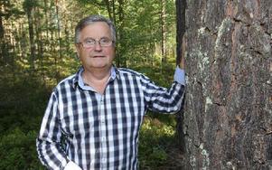 Thomas Björklund, länsordförande för jägarförbundet i Dalarna. Foto: Curt Kvicker