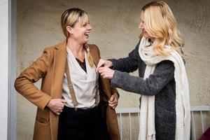 Eva-Lena Rylander och Jannice Thelander,  känner varandra väl.