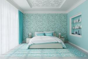 Effekten av att använda färgmatchningsmetoden blir att de kulörta sakerna i hemmet inte känns som ensamma utropstecken, utan får stegvis ackompanjemang.
