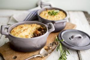 Shepherd's pie är en brittisk klassiker.