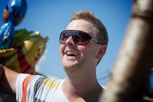 Fredric Magnusson står inför höjdpunkten i karriären. STCC-start hemma i Airport Race på Frösön.
