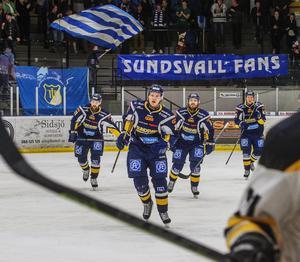 Alexander Sundqvist fixade kvitteringen till 2–2.