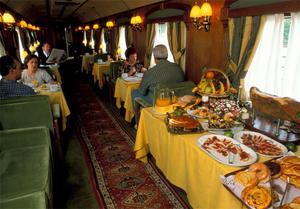 Frukost ombord.