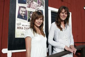 Maria och Sara Hyttinen från Ludvika var bland de yngre besökarna på premiären. De tyckte att det var lite speciellt att gå på just premiären och det var också därför som de varit på just den flera år i rad.