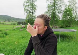 Karolina Svensk i tårar när hon tänker på vad som kunde ha hänt bästa vännen och kollegan Ulrika Ellgren vid olyckan.