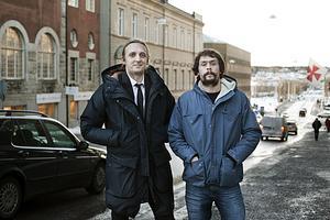 Martin Schibbye och Johan Persson belönades under måndagen med Ludvig Nordström-priset i Härnösand. En del av priset skänks till medfångar i Etiopien.