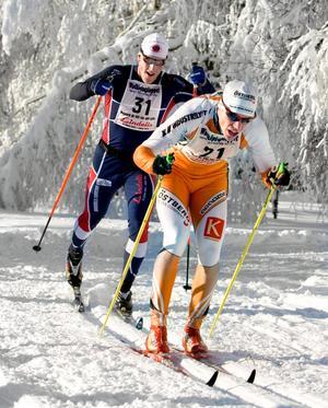Jakten mot guldet har börjat. Håkan Löfström leder, följd av Anders Palmér.