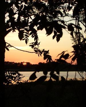 En av sommarens vackra kvällar tog jag denna bild på Jägaråsen utanför Kungsör.