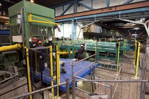 Den här nya riktmaskinen hos Ovako ersätter ett riktverk som använts sedan 1916