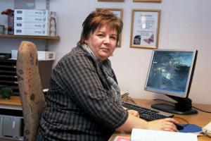 Nu har anhörigstödet i Ovanåkers kommun en egen expedition, dit man kan gå eller ringa varje vardag. Carina Nordqvist tar emot denna dag.