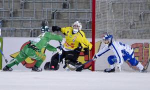 David Borvall i bronsmatchen som Villa Lidköping förlorade mot Hammarby.