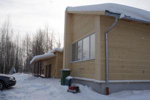 Villan, som man kallar lågenergihus, beräknas ha en energiåtgång på 7000 kilowattimmar per år.
