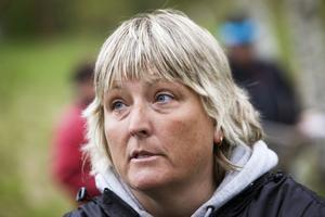 Coachen Åsa Höglund såg inte så allvarligt på förlusterna i går. I stället var hon glad över att de unga grabbarna i Mosquitoes fick värdefull matchning.