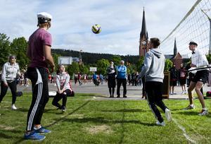 Bollsäkra Philippa Johansson in action.