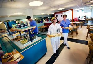 I går öppnade matsalen på Östersunds sjukhus.  Foto: Håkan Luthman
