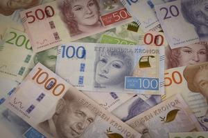 Sveriges nya sedlar.