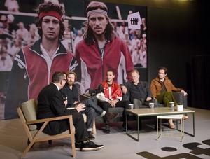 Från presskonferesen av filmen