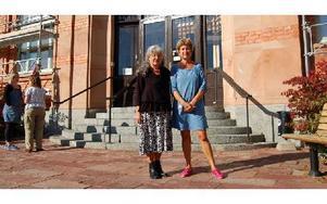 Lisa-Ask och Ann-Marie Mohlin från Region Dalarna hoppas att bidragsarbetet I Orsa kommun ska bli mer effektivt genom SIP-planen. Foto: Stefan Rämgård