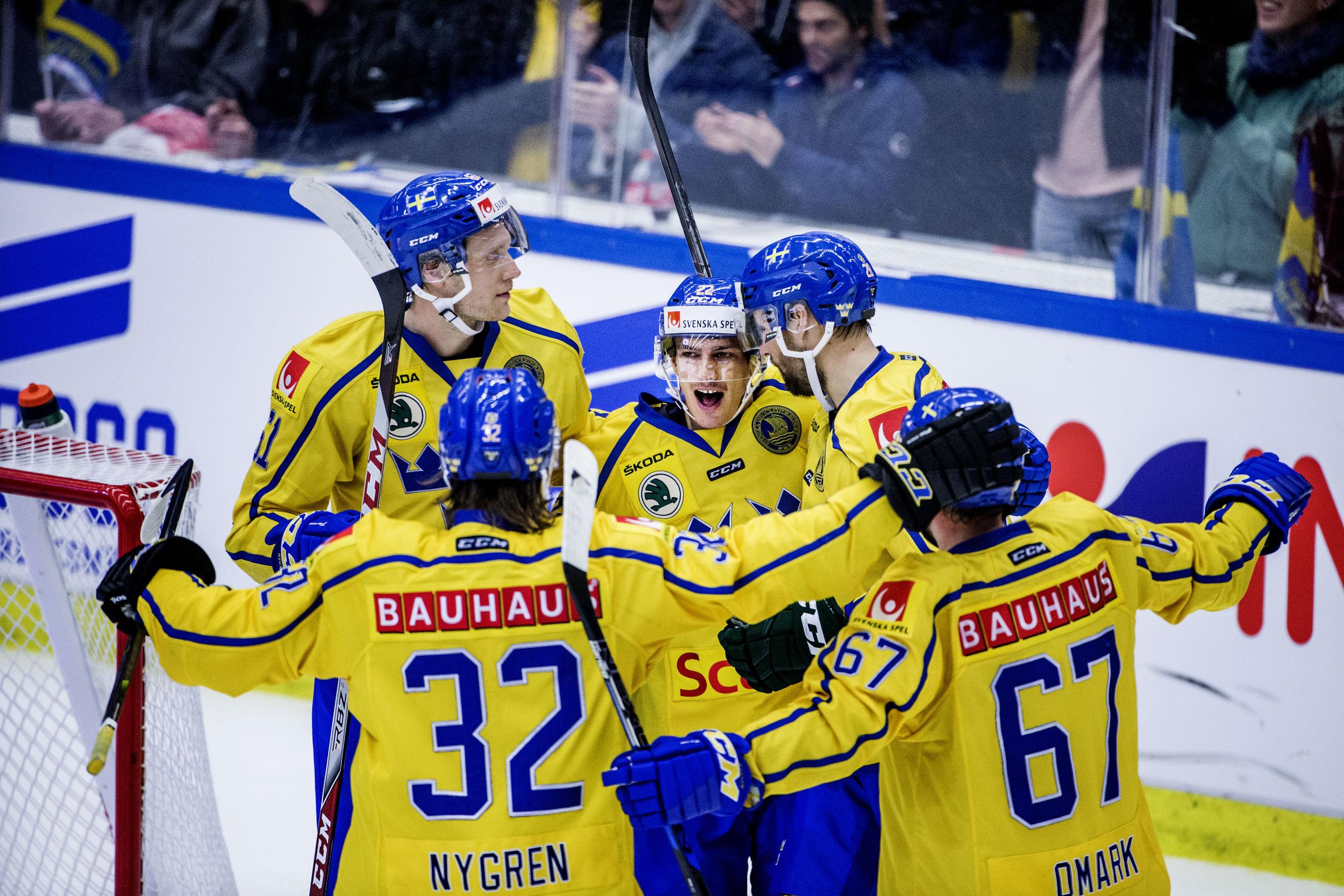 Lindholm debuterar i tre kronor i kvall