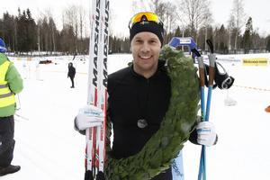 Fredrik Byström¨, Orsa var glad efteråt och siktar nu på Vasaloppet.
